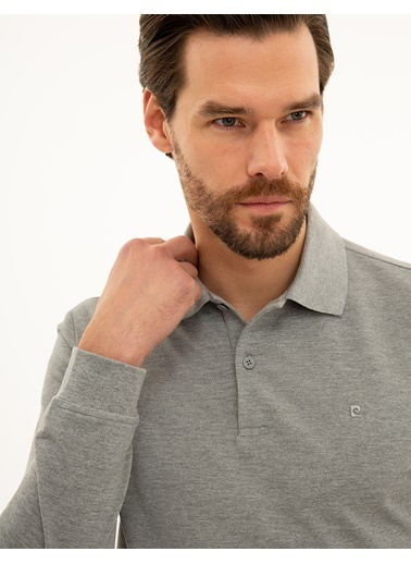 Pierre Cardin Erkek   Sweatshirt G021GL082.000.1208969.VR086 Gri